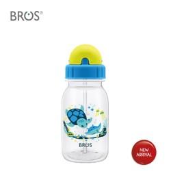 BROS Botol Minum Anak Sedotan / Crystal Ocean Babies (350ml)