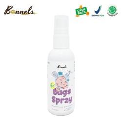 Essential Oil - Bonnels - Bugs Spray - Anti Nyamuk Semprot 100% Alami