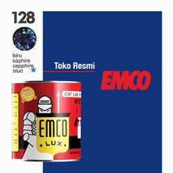 Emco Lux Cat Kayu & Besi 1kg - Bintang 128 Biru Sapphire