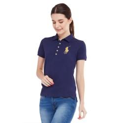 Kaos Polo Shirt Wanita Navy Polo Ralph Lauren YD1801EN508
