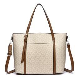 HANA Winny Tote Bag HN012 - Beige