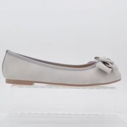 Sepatu Wanita Flat Shoes The Little Things She Needs MOOSONE LightGrey