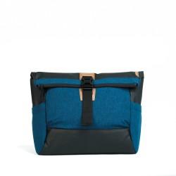 DAAVUU Bushido Messenger Bag Unisex - Blue/Black