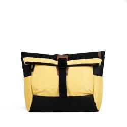 DAAVUU Bushido Messenger Bag Unisex - Yellow/Black