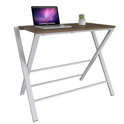 INTERIO - Meja Belajar Study Desk Mattwood White 9024