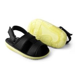 sandal anak cowok perekat umur 1 2 tahun bunyi black