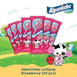 Alpenliebe Lollipop - Strawberry (20 pcs)