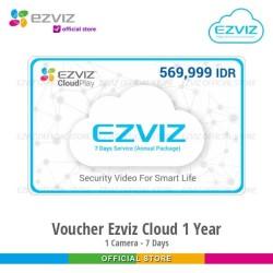 Ezviz Cloud Storage 24 Jam Rekaman Full 7 Hari Langganan 1 Tahun