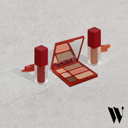 WCKD Liberty Face Palette (02) x Lip Envy Matte Lip Cream Package 1
