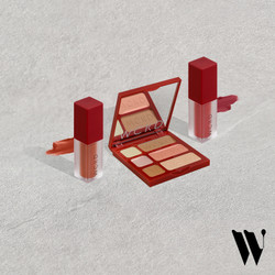 WCKD Liberty Face Palette (01) x Lip Envy Matte Lip Cream Package 2