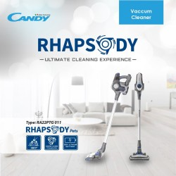 Vacuum Cleaner Candy Tipe Rhapsody Wireless Rechargeable