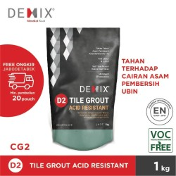 Demix D2 Tile Grout Acid Resistant - Standard Color