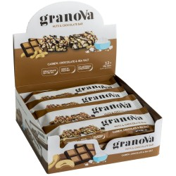 Granova Bar 38g Nuts & Chocolate 1 Box (12 Bar) - Healthy Snack