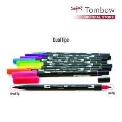 Tombow Dual Brush Pen Semua Warna, Satuan