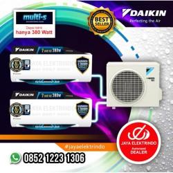 AC DAIKIN MULTI S 2 Koneksi 2MKC 30 QVM (1/2PK + 1/2PK)