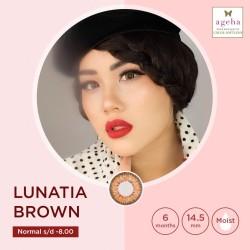 Softlens Ageha Lunatia Brown / Japan Softlens