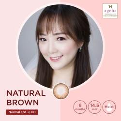 Softlens Ageha Natural Brown / Japan Softlens