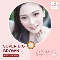 Softlens Ageha Super Big Brown / Japan Softlens