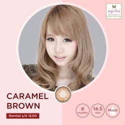 Softlens Ageha Caramel Brown / Japan Softlens