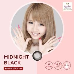 Softlens Ageha Midnight Black / Japan Softlens