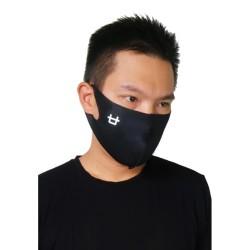 AMA01 5pcs Masker Korea Logo hitam