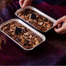 Brownies-Bronis with Almond, Walnut and Chocochip