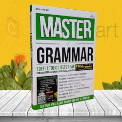 BUKU TES TOEFL TOEIC: MASTER OF GRAMMAR BONUS CD DAN APLIKASI ANDROID