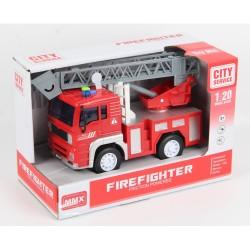 MAINAN MOBIL MMX-77006 FIREFIGHTER - LADDER FIRE TRUCK