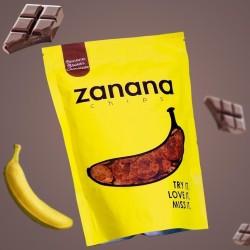 Keripik Pisang Zanana Brown Chocolate
