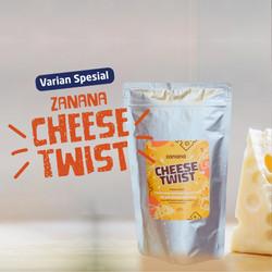 Keripik Pisang Zanana Cheese Twist
