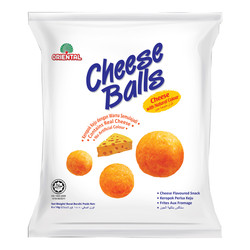 ORIENTAL SNACK CHEESE BALL FAMILY PACK