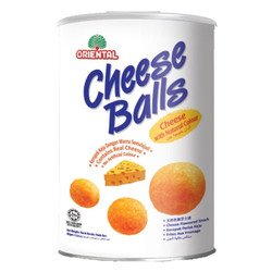 ORIENTAL CHEESE BALL CAN SNACK 80 gr