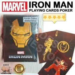 IRON MAN - TONY STARK Poker Playing Cards (Marver Korea Limited ver)