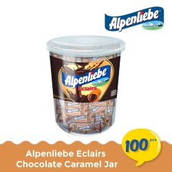 Alpenliebe Eclairs Chocolate Caramel Jar (100 pcs)