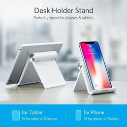 Phone tab holder desk stand for Android Smartphone iPhone Samsung 1