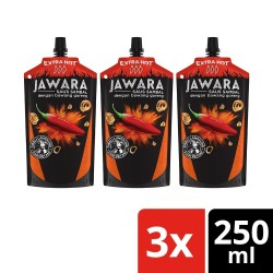 Jawara Saus Extra Hot Pouch 250Ml Multipack