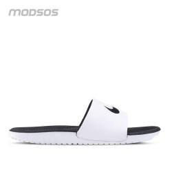 Sandal Nike Kawa Slide kasual white pria Original