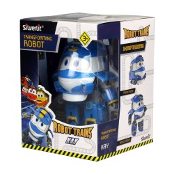 "MAINAN ROBOT TRAIN 80164 4"" TRANSFORMING ROBOT KAY"
