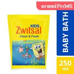 ORAMI - Zwitsal Kids Bubble Bath Blue Clean & Fresh 250ml