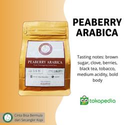 Kopi Lanang - Peaberry Arabika Temanggung Roast Bean 500gr