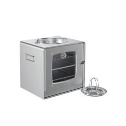Oven Aluminium 04 Tempat Arang