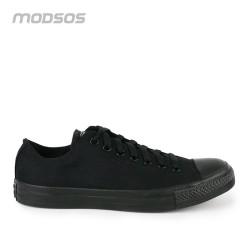 Sepatu Pria Converse Low Canvas Full Black Original