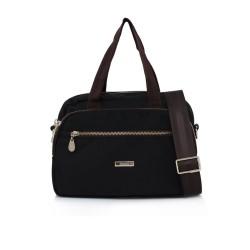 Tas Elizabeth Aghna Handbag Black