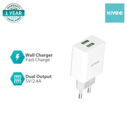 Kivee AE35 Wall Charger Fast Charger DC 5V 2.4A