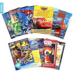 Paket Buku Coloring Book LARGE - Adinata / Buku Mewarnai / Buku Anak A