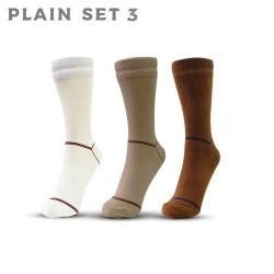 Plain Set 3 - Kaos Kaki AGF