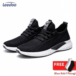 Leedoo Sepatu Sneakers Pria Running Shoes Young Lifestyle Import MR115