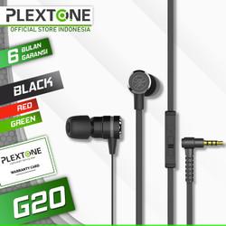 Earphone PLEXTONE G20 In-Ear Gaming Headset Stereo Bass Headphone