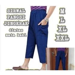 TERLARIS Celana pangsi sirwal/celana sontog pria dewasa trendy modern
