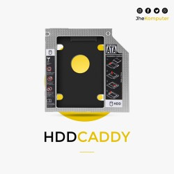 HDD Caddy 9.5 mm TIPIS SATA to SATA DVD SLOT To HDD SLOT (SSD CADDY)